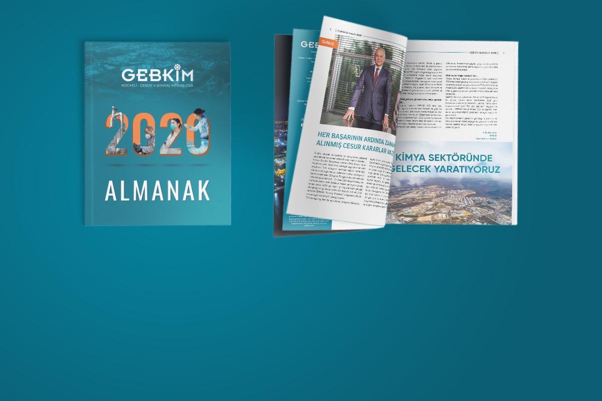 İş, Ekonomi ve Eğitim Dünyası'nın Nabzını Tutan GEBKİM 2020 Almanak Yayımlandı!